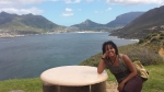 Guest Blogger, Delise Hampton, in Cape Town